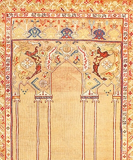 Double Niche Prayer Rug