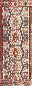 Tribal Antique 19th Century Turkish Kilim 48609 Nazmiyal