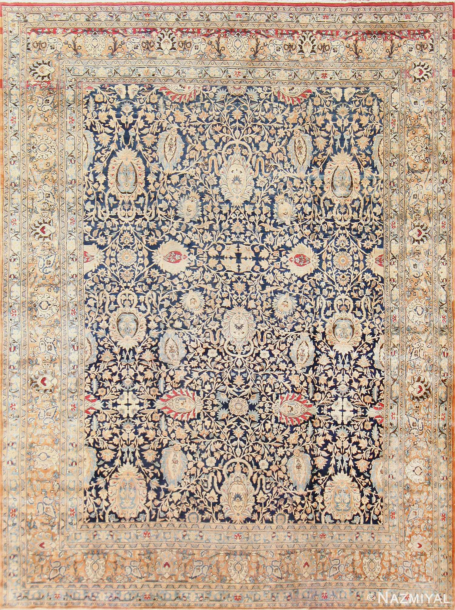 Antique Persian Khorassan Rug 50342 Nazmiyal