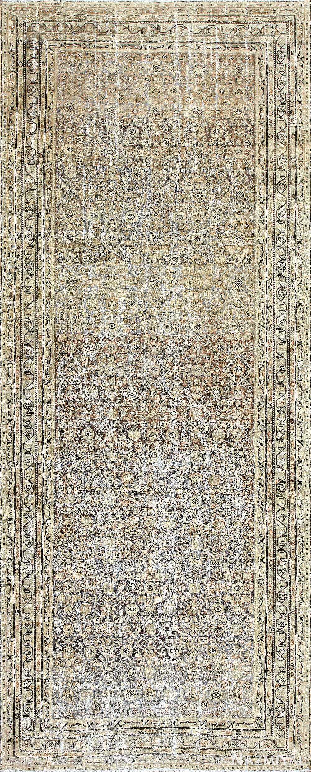 Antique Persian Malayer Runner Rug 50268 Nazmiyal