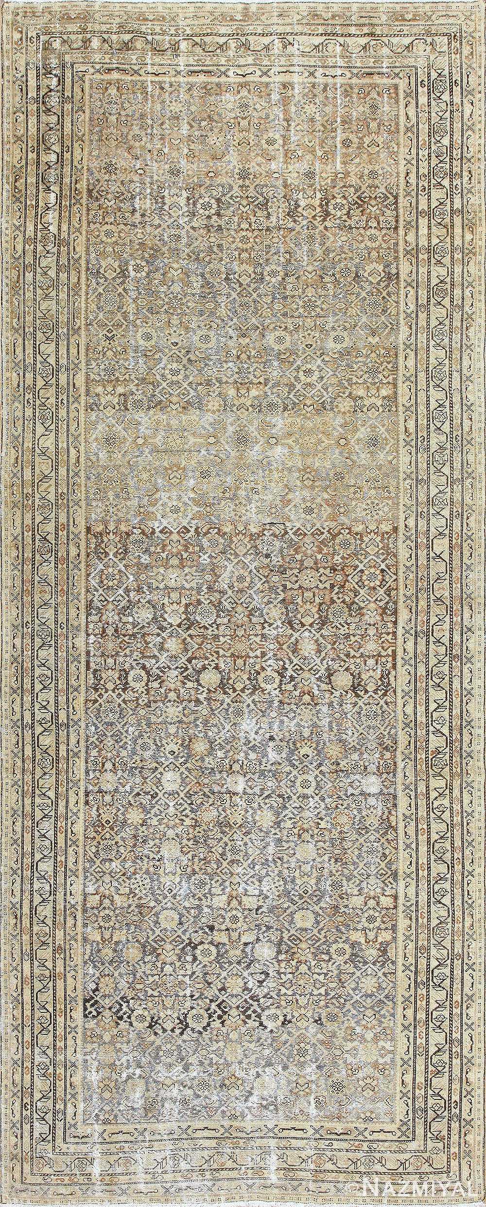 Antique Persian Malayer Runner Rug 50268 Nazmiyal