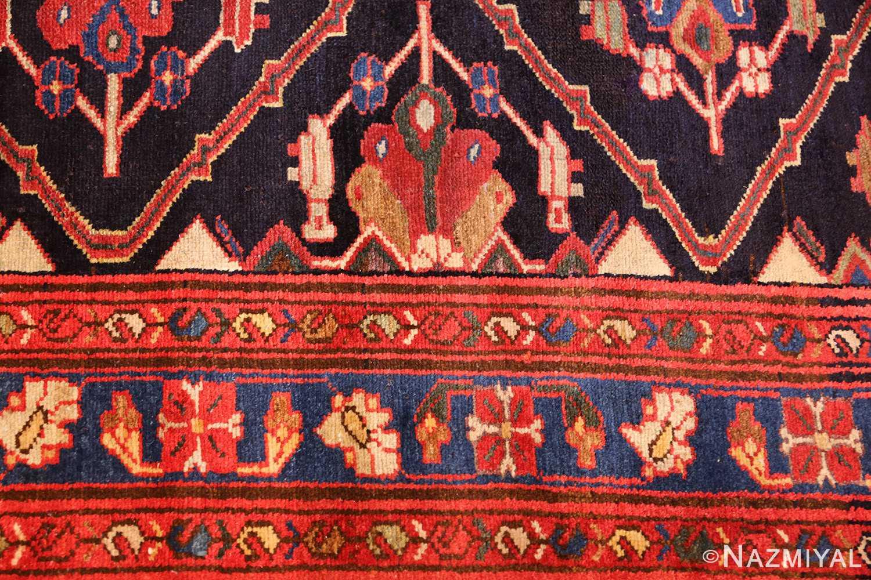 antique persian malayer runner rug 50351 border Nazmiyal