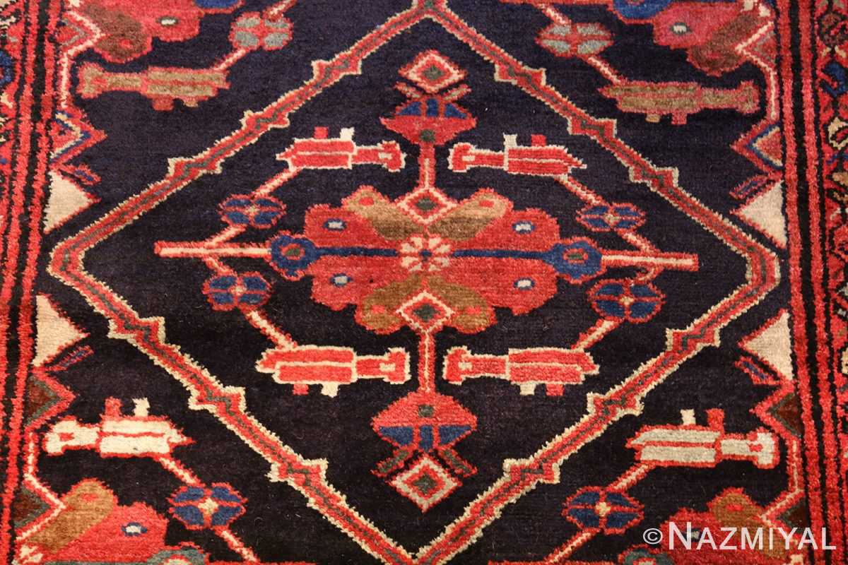 antique persian malayer runner rug 50351 center Nazmiyal