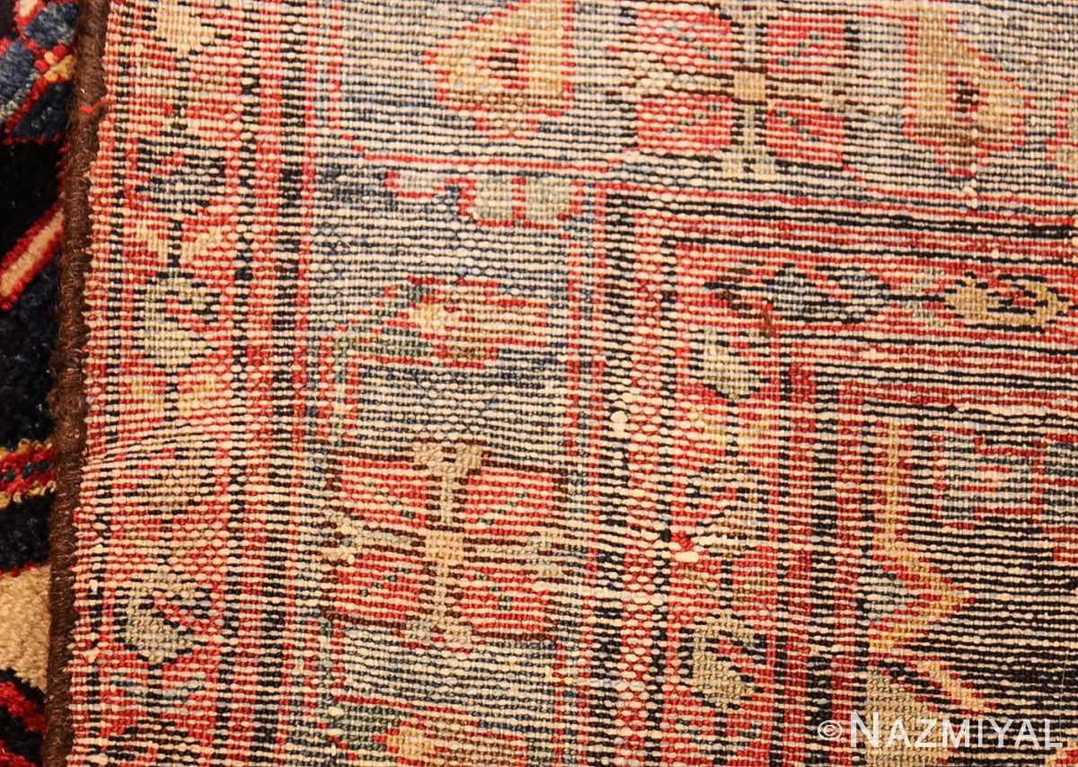 antique persian malayer runner rug 50351 weave Nazmiyal