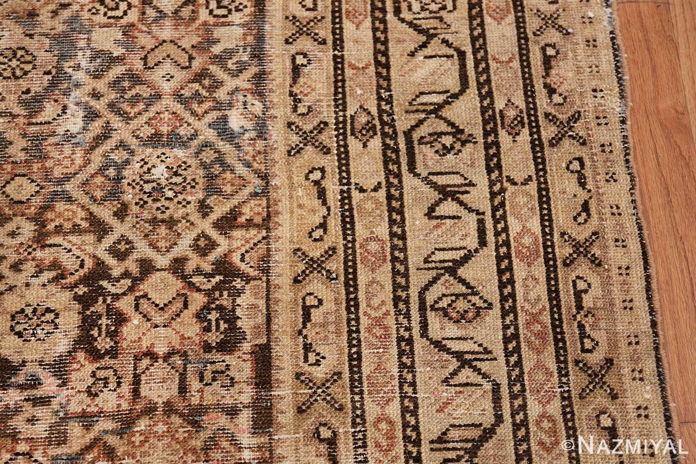 Antique Persian Shabby Chic Malayer Wide Hallway Gallery Rug 50268 Border Design Nazmiyal