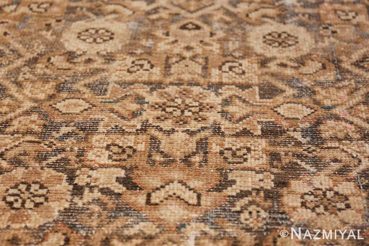 Antique Persian Shabby Chic Malayer Wide Hallway Gallery Rug 50268 Closeup Shot Nazmiyal