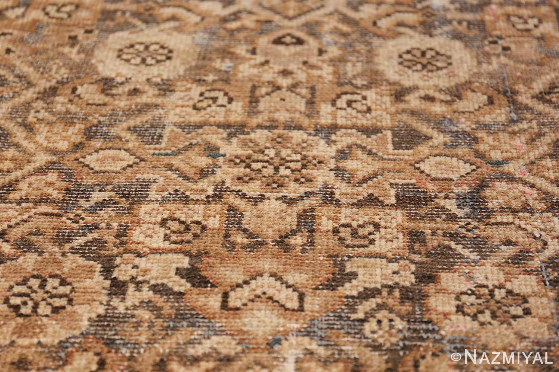 Antique Persian Shabby Chic Malayer Wide Hallway Gallery Rug 50268 Closeup Shot Nazmiyal