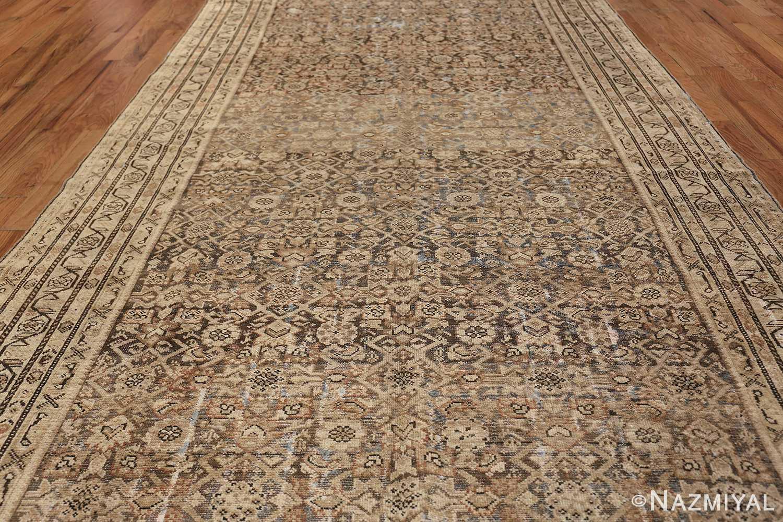Antique Persian Shabby Chic Malayer Wide Hallway Gallery Rug 50268 Field Design Nazmiyal