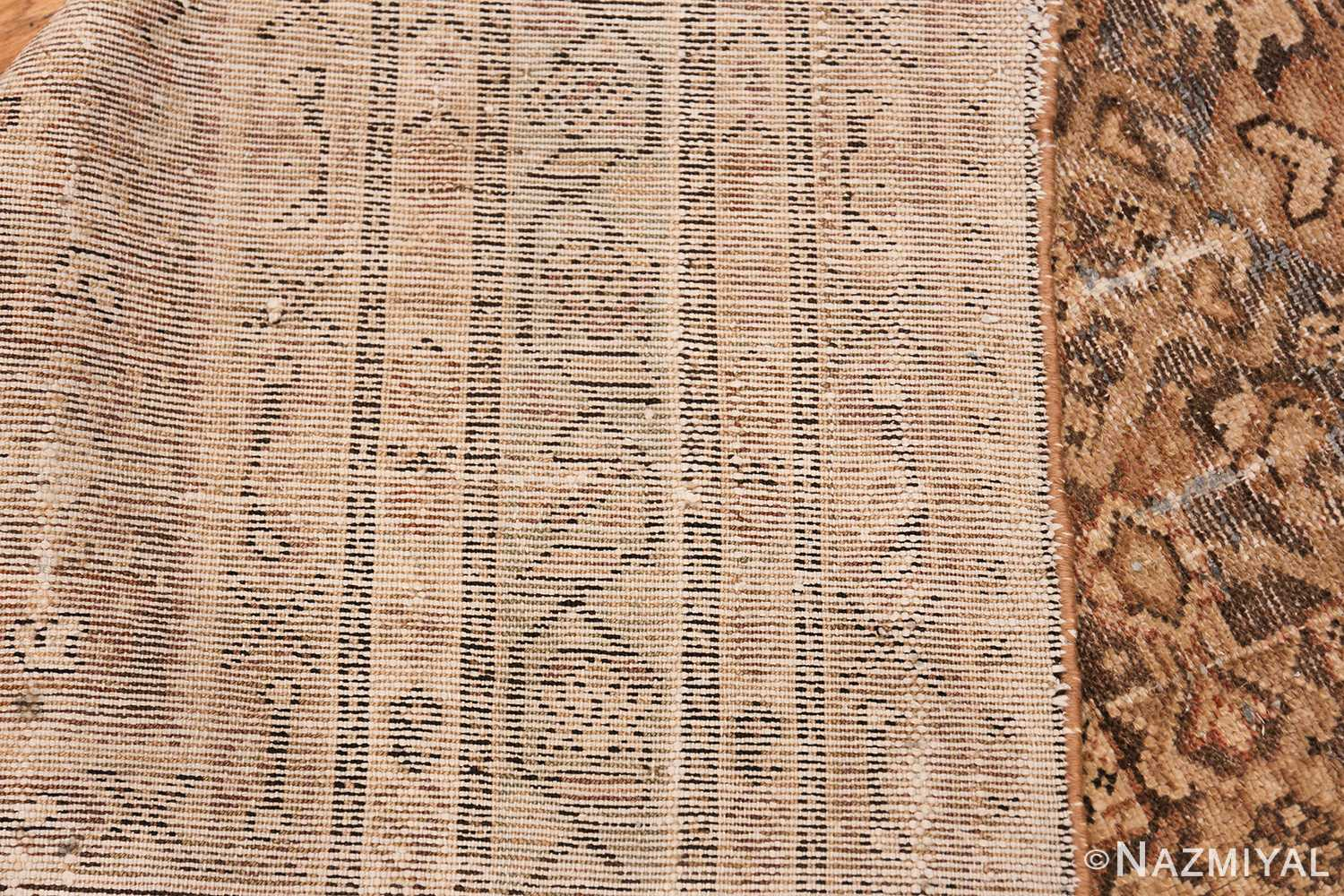 Antique Persian Shabby Chic Malayer Wide Hallway Gallery Rug 50268 Woven Knots Nazmiyal