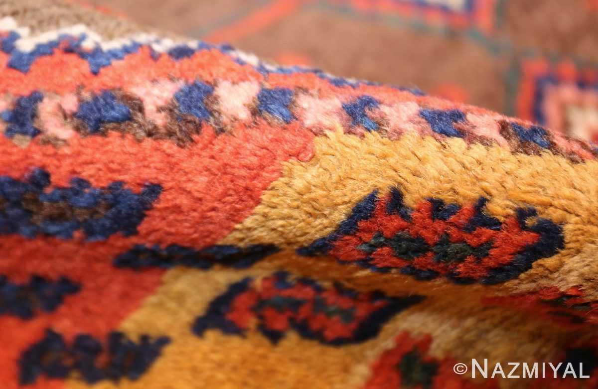 antique persian tribal kurdish rug 48610 pile Nazmiyal