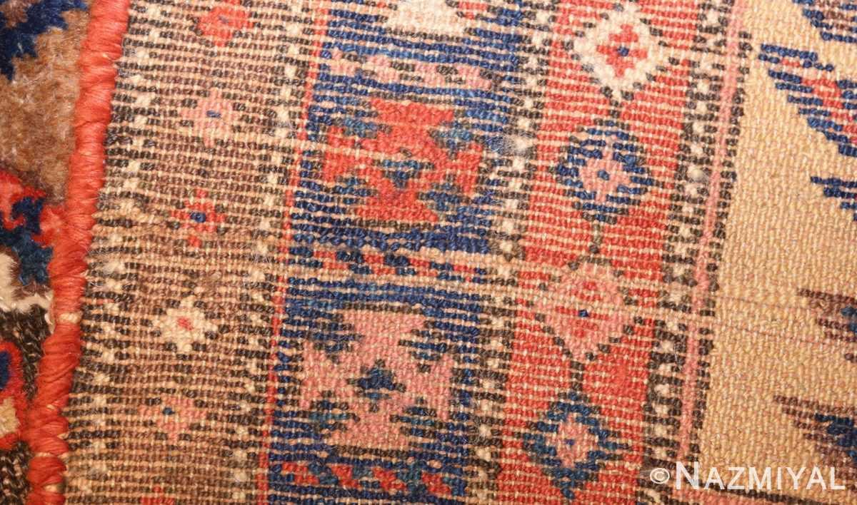 antique persian tribal kurdish rug 48610 weave Nazmiyal