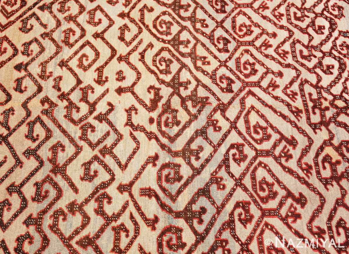 Background Antique Persian Dragon Bakshaish carpet 48644 by Nazmiyal