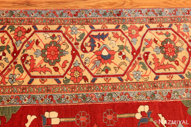beautiful antique persian serapi rug 48642 border Nazmiyal