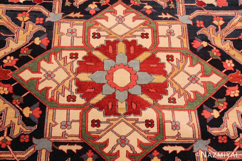 beautiful antique persian serapi rug 48642 middle Nazmiyal