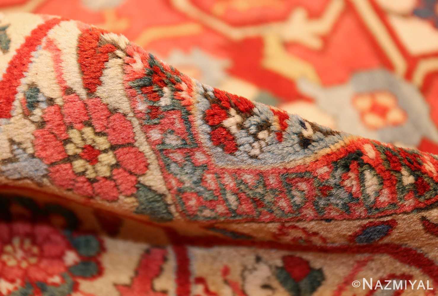 beautiful antique persian serapi rug 48642 pile Nazmiyal