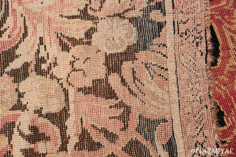 beautiful black background antique karabagh rug 50366 knots Nazmiyal