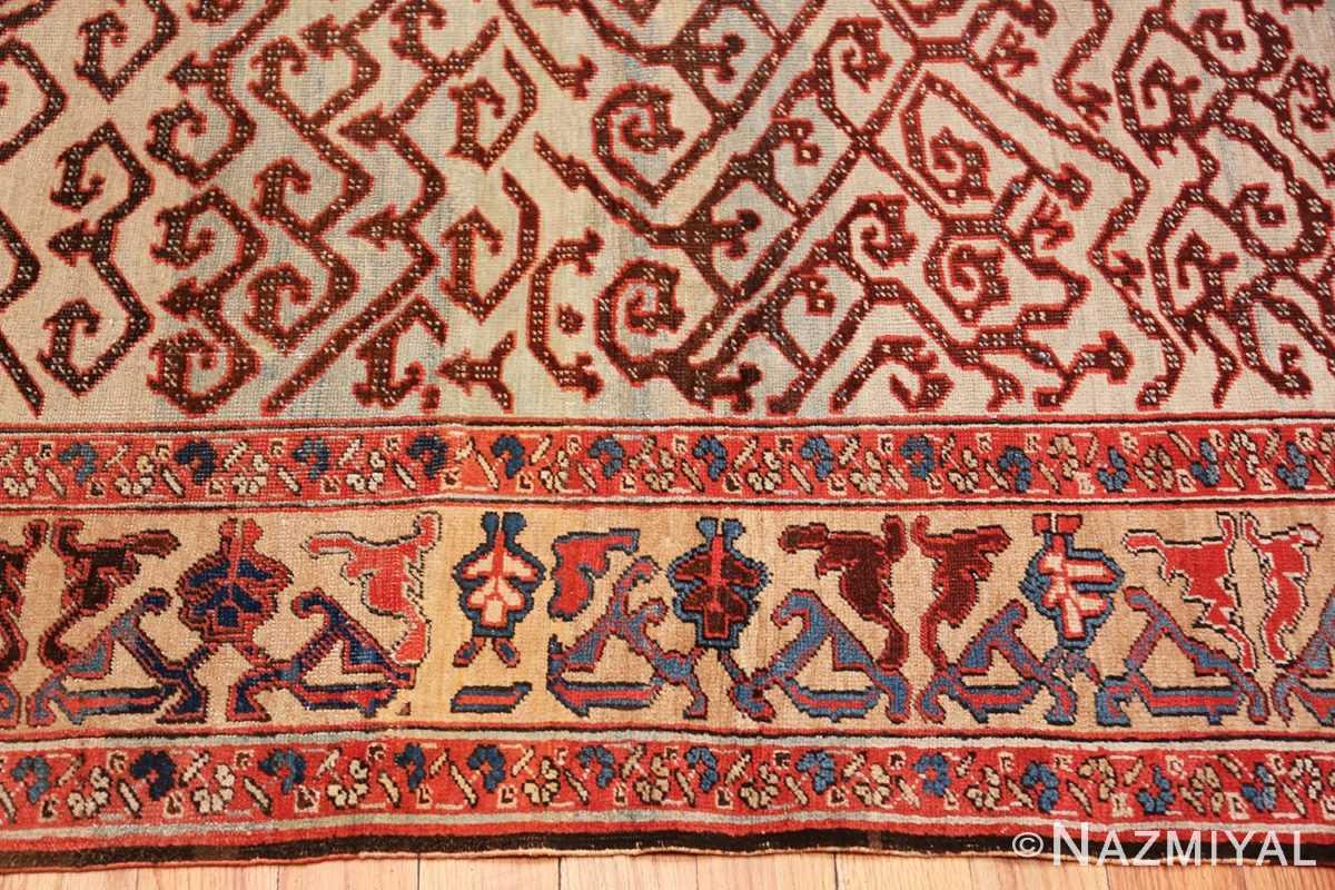 Border Antique Persian Dragon Bakshaish carpet 48644 by Nazmiyal
