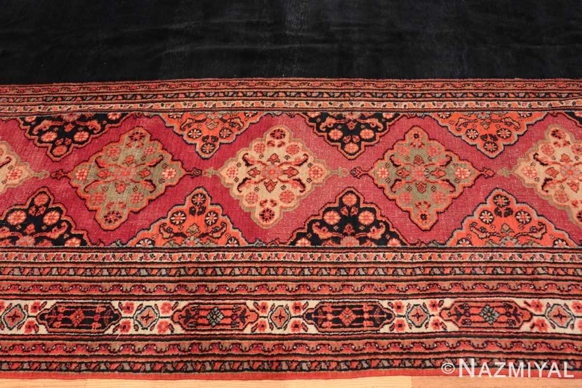 Border Large Antique Persian Khorassan carpet 47363 by Nazmiyal