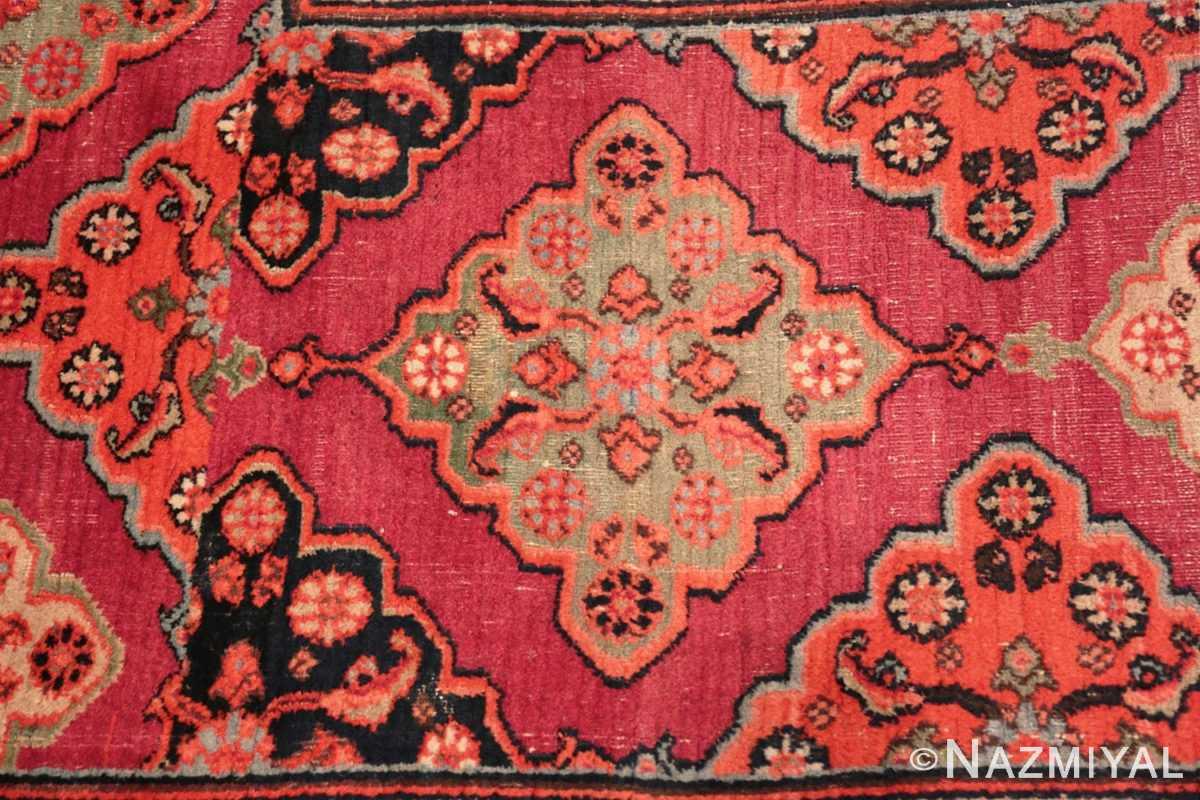 Close-up Large Antique Persian Khorassan carpet 47363 by Nazmiyal