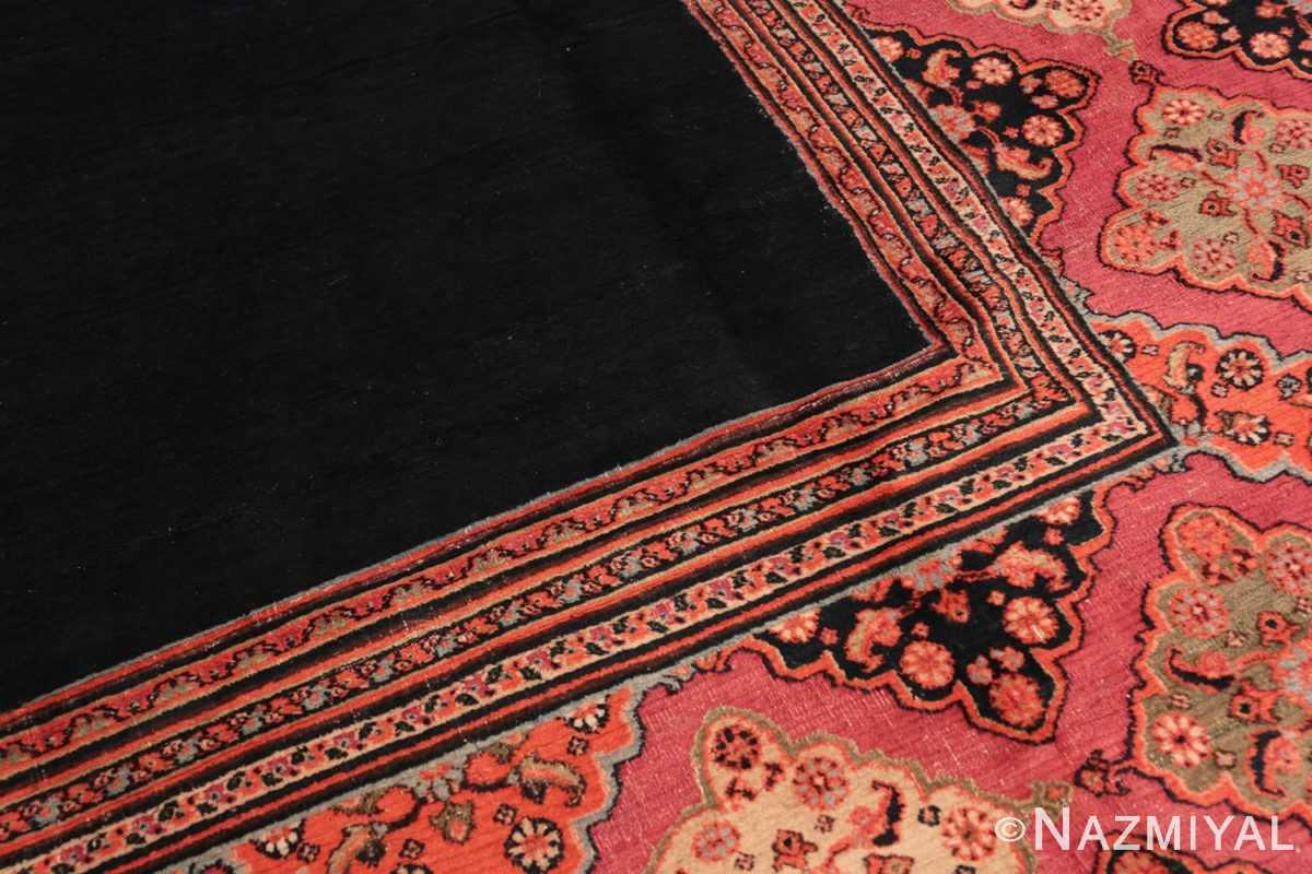 Detail Large Antique Persian Khorassan carpet 47363 by Nazmiyal