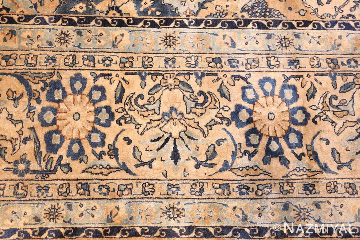 fine garden design antique persian kerman rug 50375 border Nazmiyal
