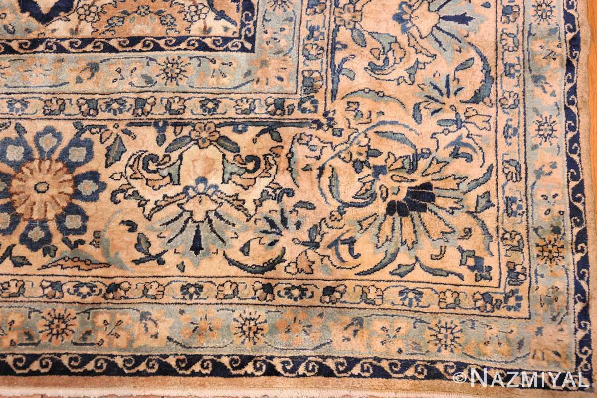 fine garden design antique persian kerman rug 50375 corner Nazmiyal