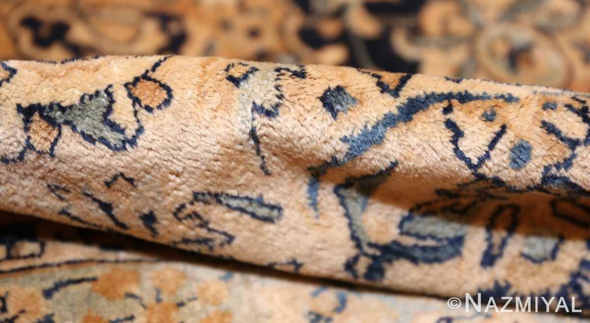 fine garden design antique persian kerman rug 50375 pile Nazmiyal