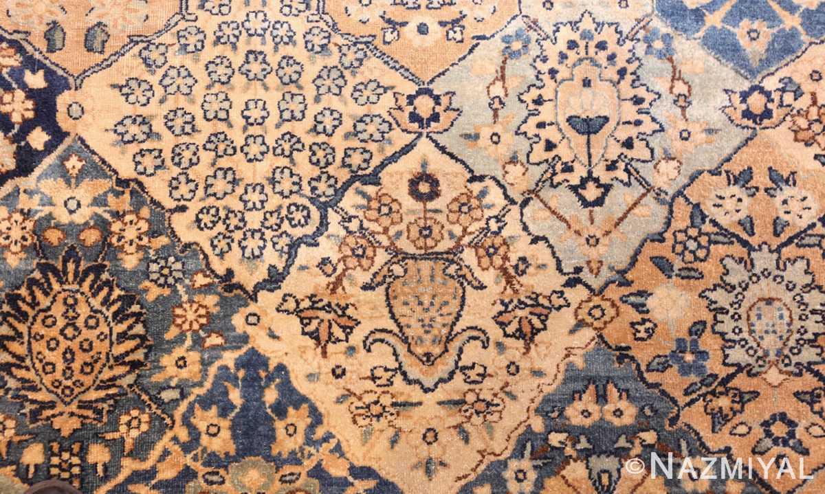 fine garden design antique persian kerman rug 50375 vase Nazmiyal