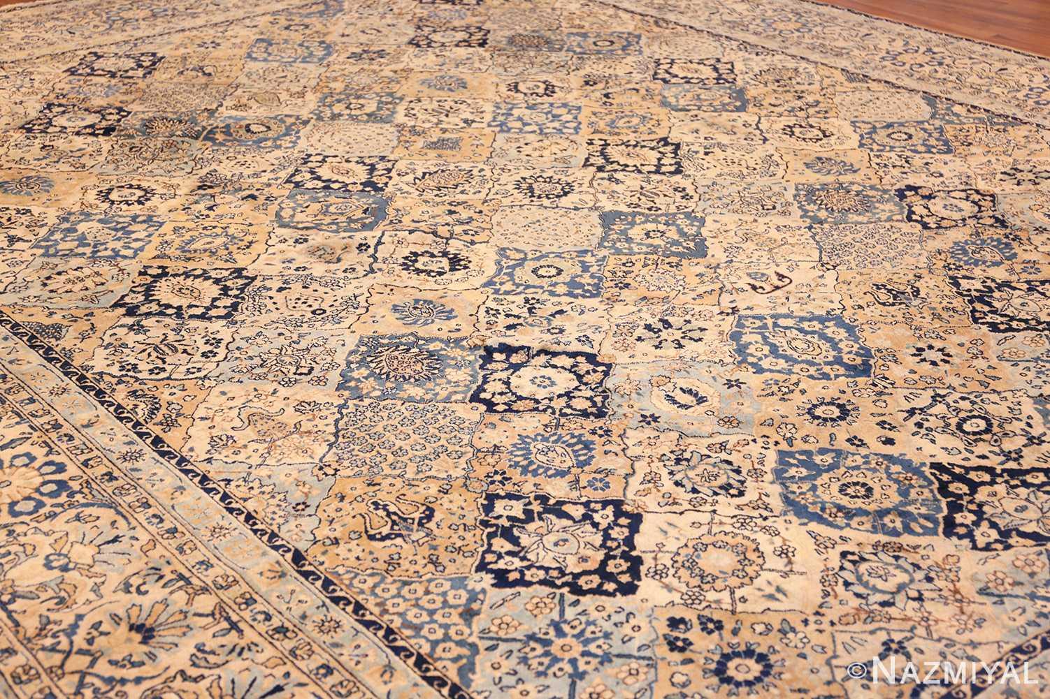 fine garden design antique persian kerman rug 50375 whole Nazmiyal