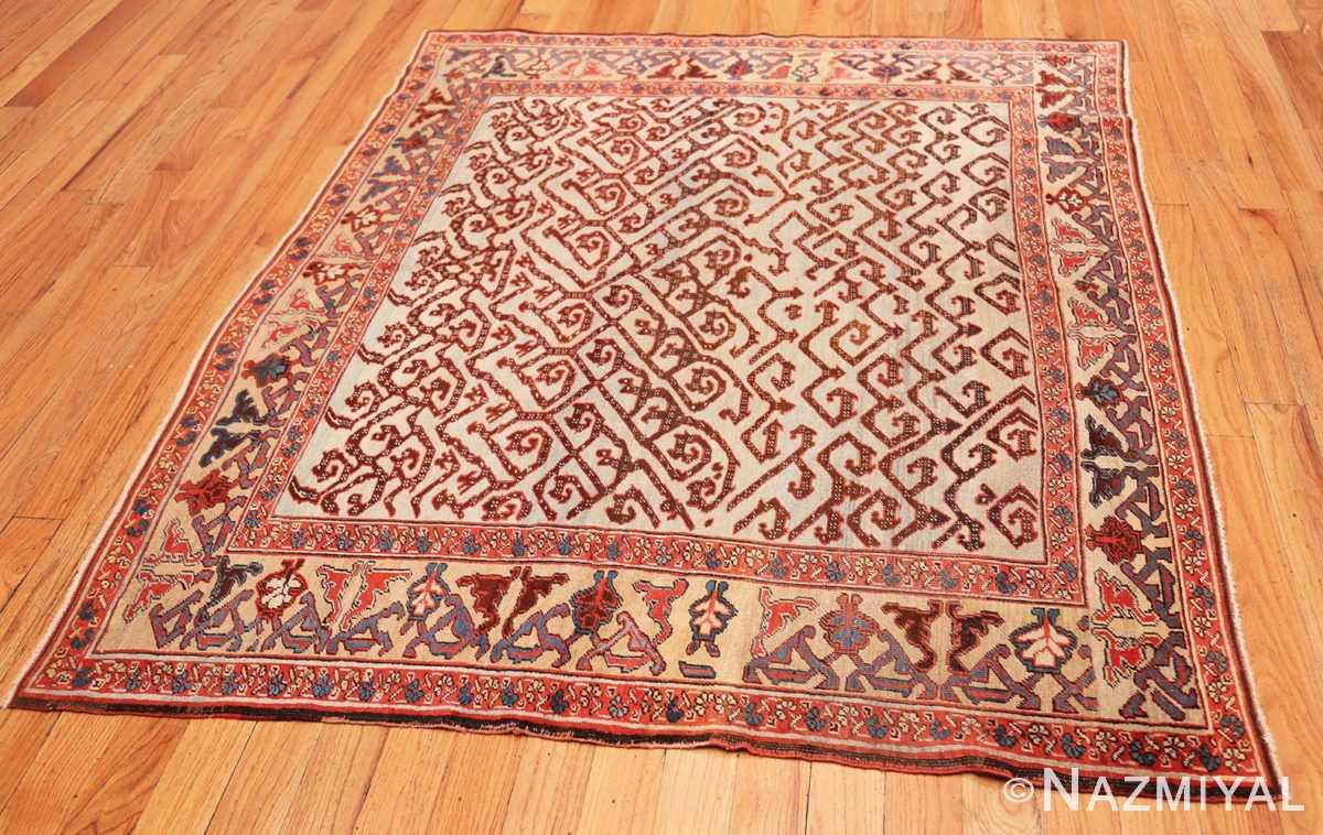 Full Antique Persian Dragon Bakshaish carpet 48644 by Nazmiyal