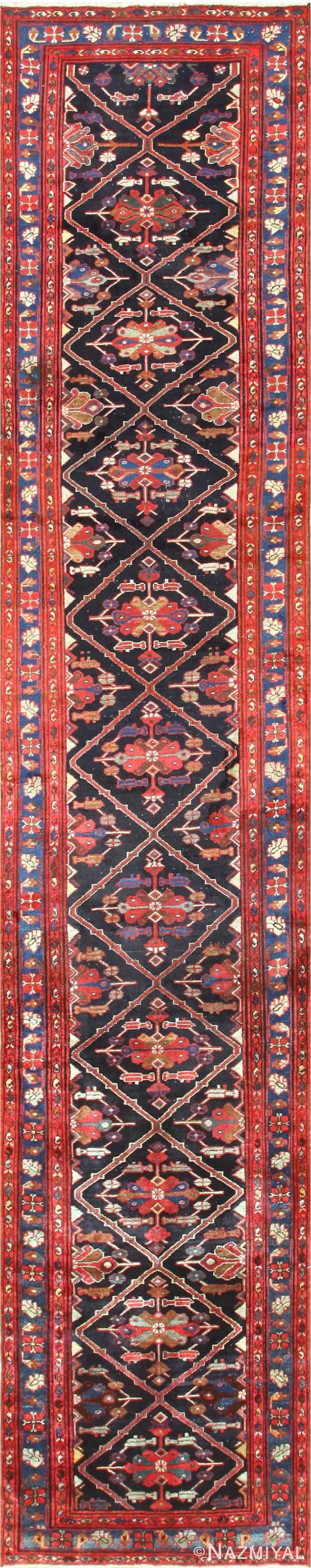 Full Antique Persian Malayer runner rug 50351 by Nazmiyal