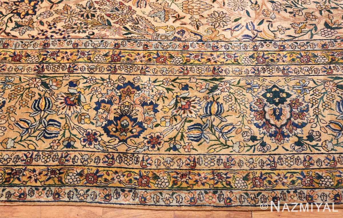 large antique fine persian kerman carpet 50405 border Nazmiyal