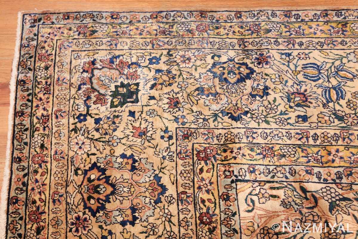 large antique fine persian kerman carpet 50405 corner Nazmiyal