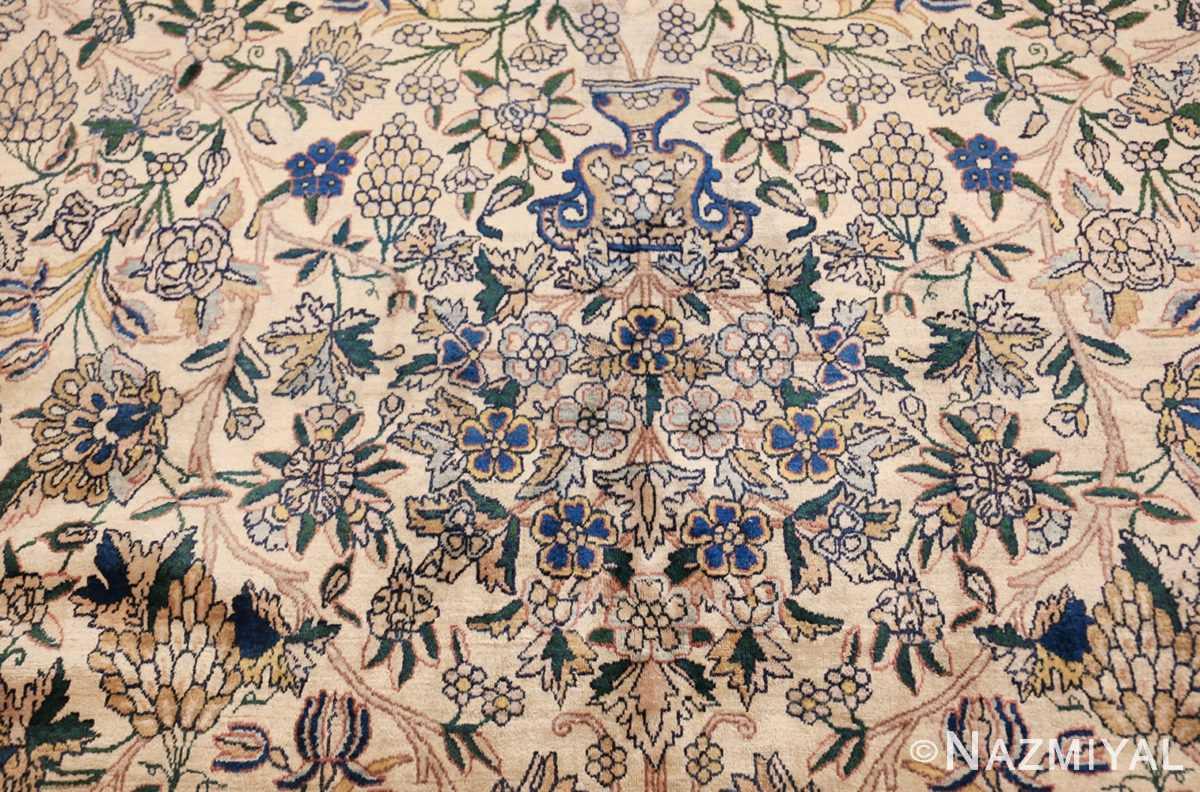 large antique fine persian kerman carpet 50405 navy Nazmiyal