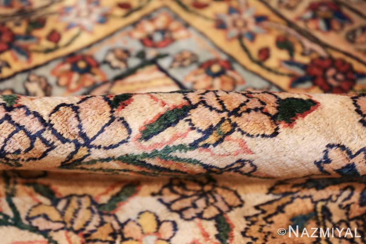 large antique fine persian kerman carpet 50405 pile Nazmiyal