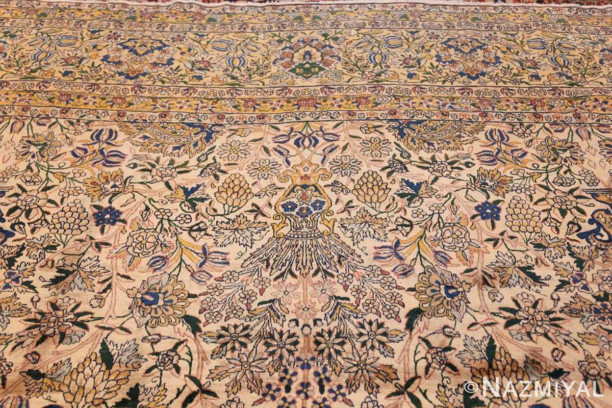 large antique fine persian kerman carpet 50405 top Nazmiyal