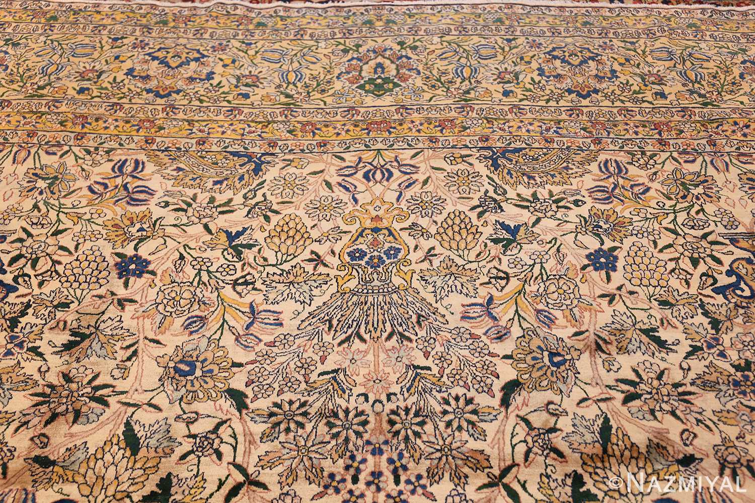 large antique fine persian kerman carpet 50405 top Nazmiyal
