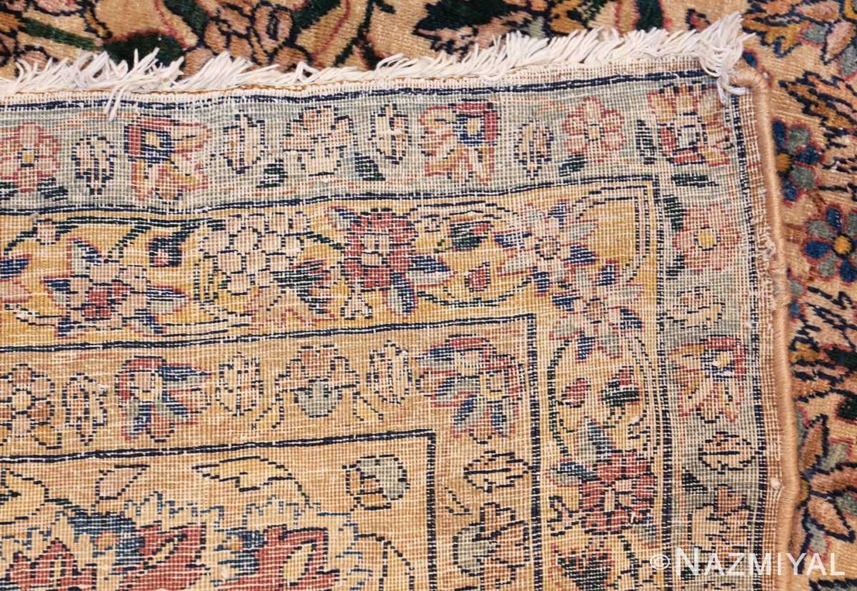large antique fine persian kerman carpet 50405 weave Nazmiyal