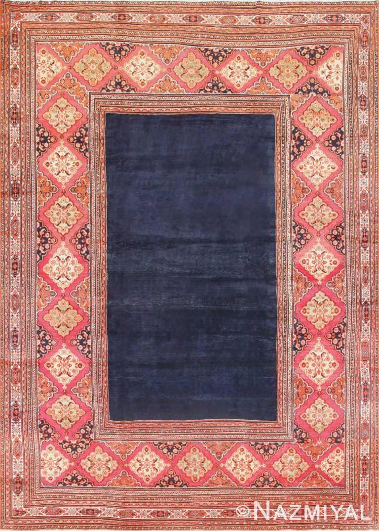 Large Antique Persian Khorassan Carpet 47363 Nazmiyal