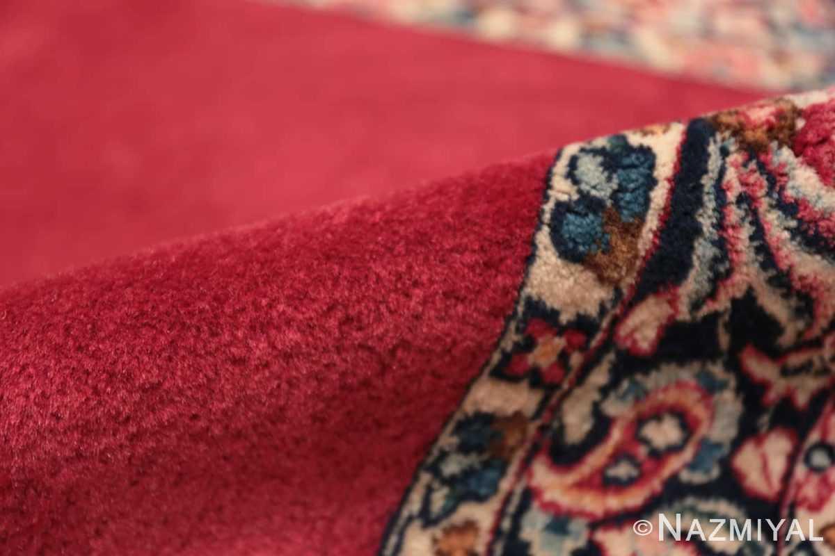 Pile Vintage Persian floral Kerman red runner rug 50349 by Nazmiyal