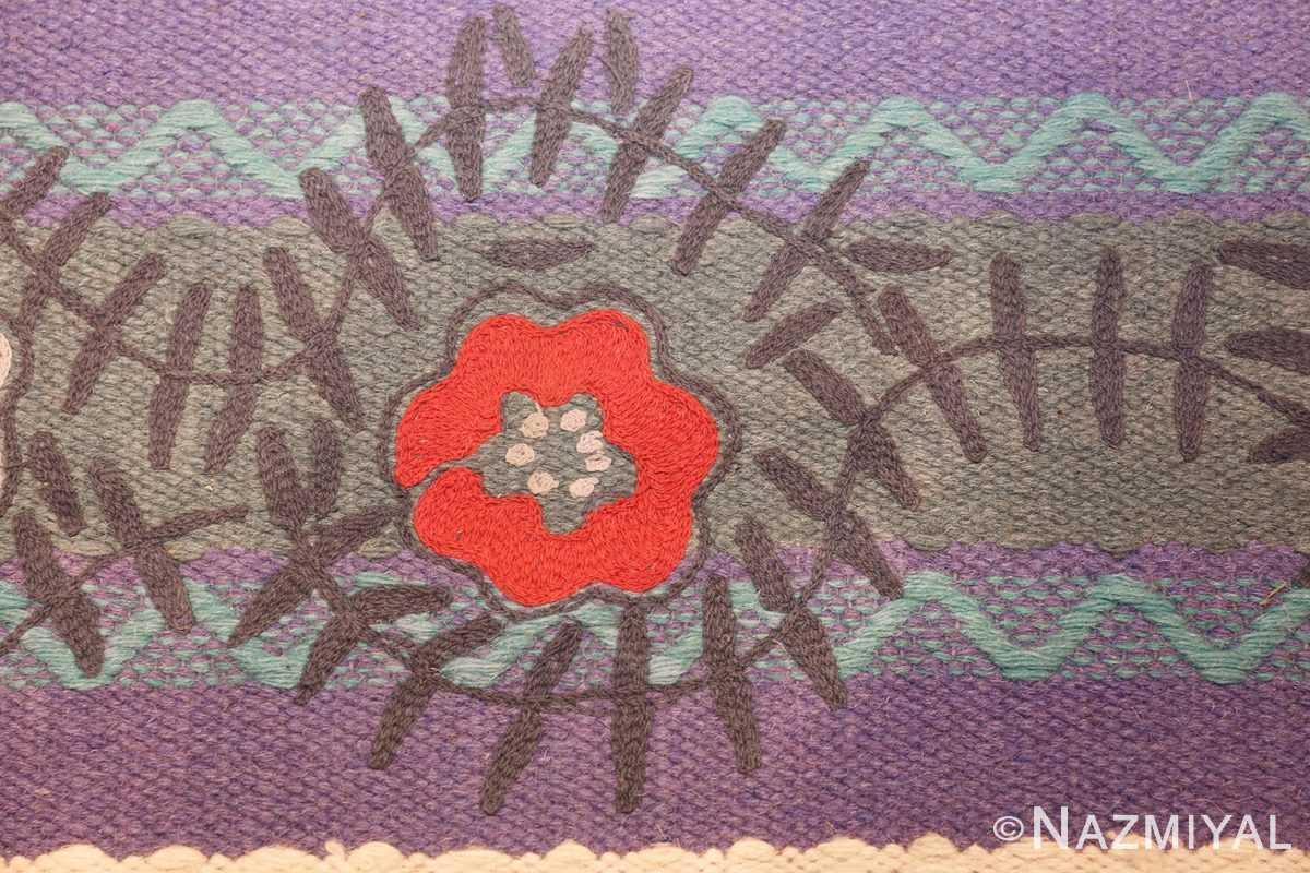 scandinavian runner rug by grudrun sjoden 48604 red Nazmiyal