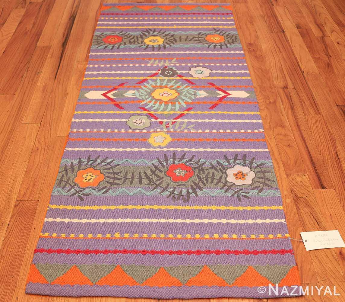 scandinavian runner rug by grudrun sjoden 48604 whole Nazmiyal