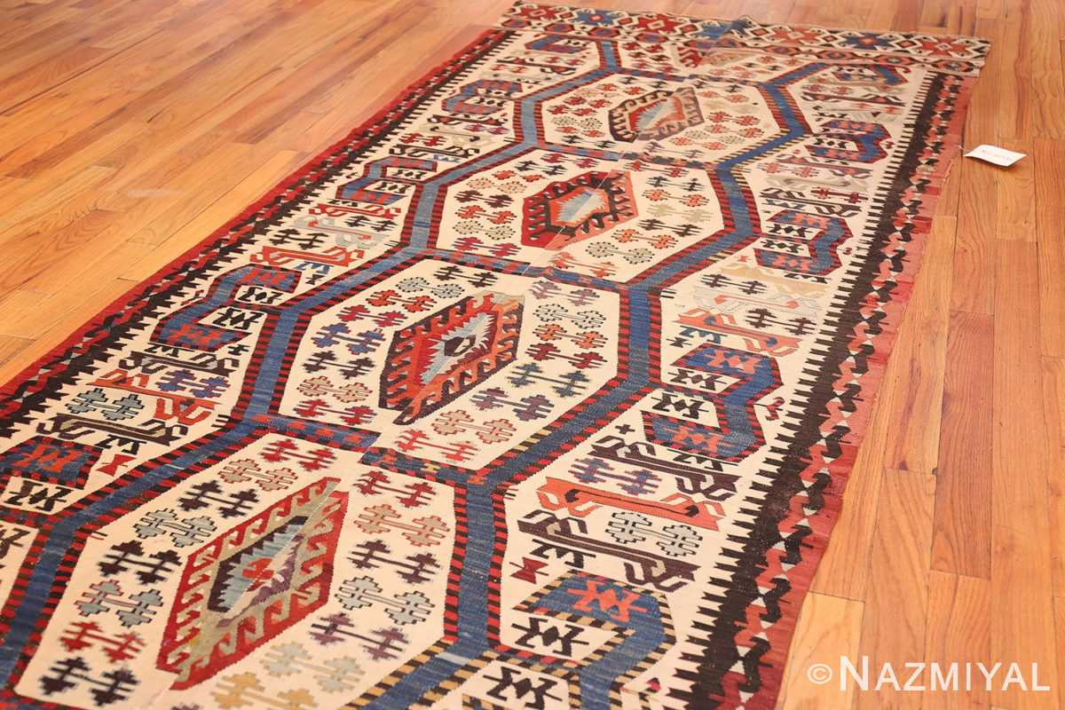 tribal antique 19th century turkish kilim 48609 whole Nazmiyal
