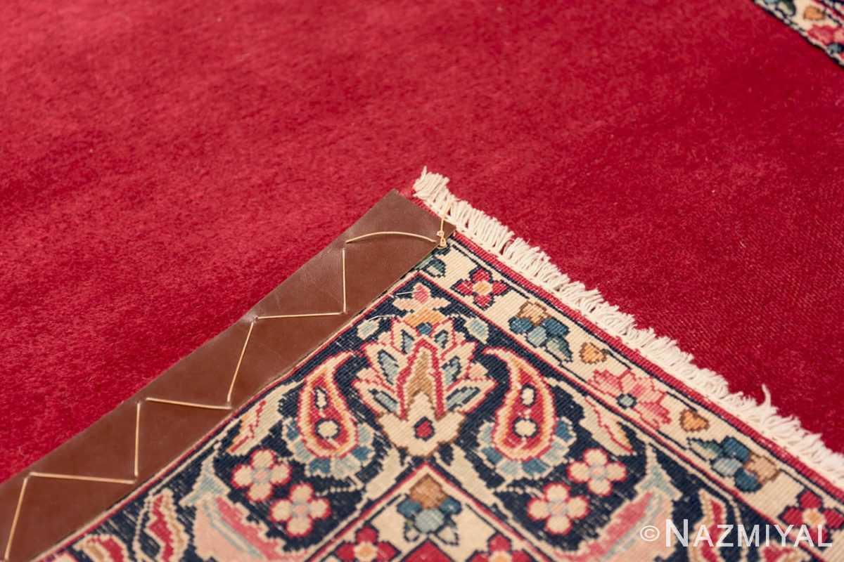 Weave Vintage Persian floral Kerman red runner rug 50349 by Nazmiyal