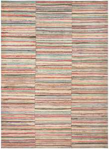 Antique America Large Rag Rug 48673 Nazmiyal