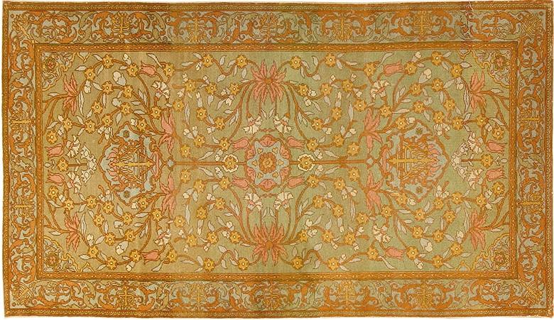 Antique Bezalel Oriental Rug by Nazmiyal