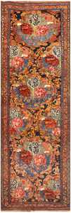 Antique Persian Bidjar Rug 48630 Detail/Large View