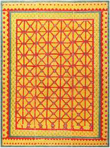 Antique Spanish Alpujarra Rug 48661 Nazmiyal