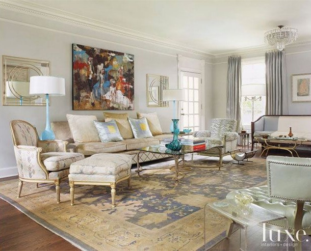 Interiors with Oriental Rugs