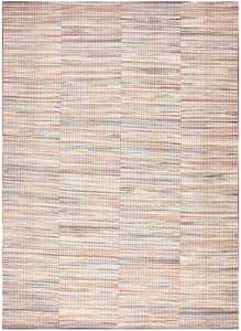 Rustic Antique America Rag Rug 48664 Nazmiyal